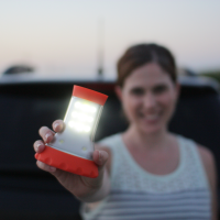 LED Combo Light | Works great as a hand held flashlight or lantern.  The silicone rubber feels great in your hand.