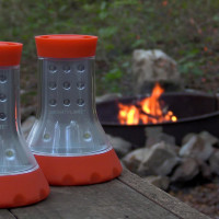 LED Combo Light | Going camping? They can light up your picnic table and help you search for fire wood!