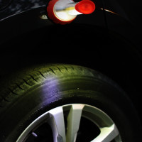 LED Combo Light | Super strong magnets allow you to attach the LED Combo Light to your car!