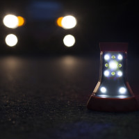 LED Combo Light | The Combo Light has two flare modes; all on and flashing.