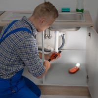 SwivelProLED™ | Now you can get light right where you need it under the sink!
